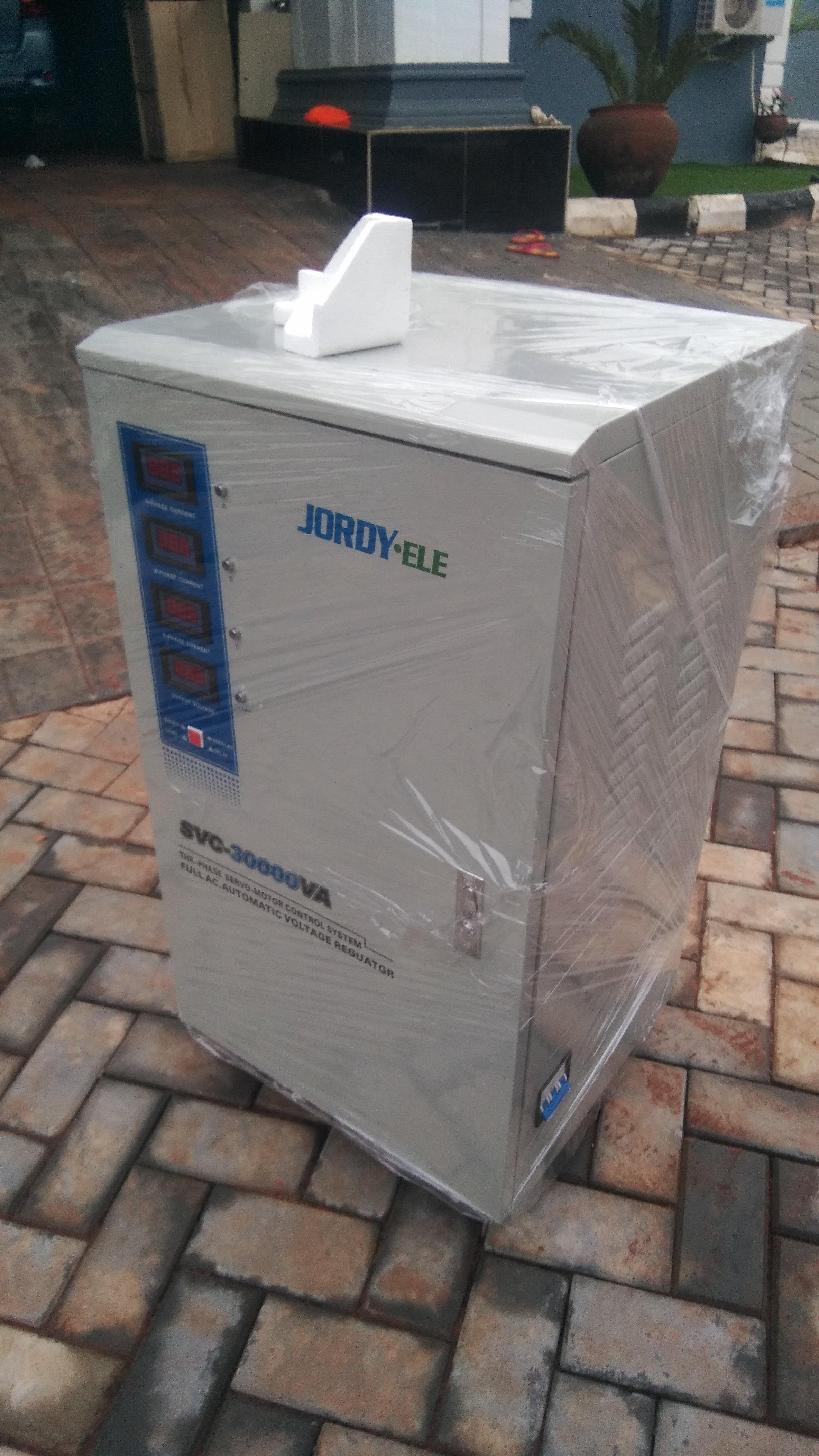 JORDY-ELE 30kVa Three Phase Servo Stab