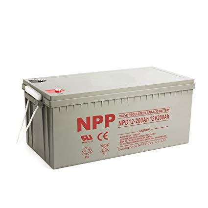NPP NPG 12-200ah Battery