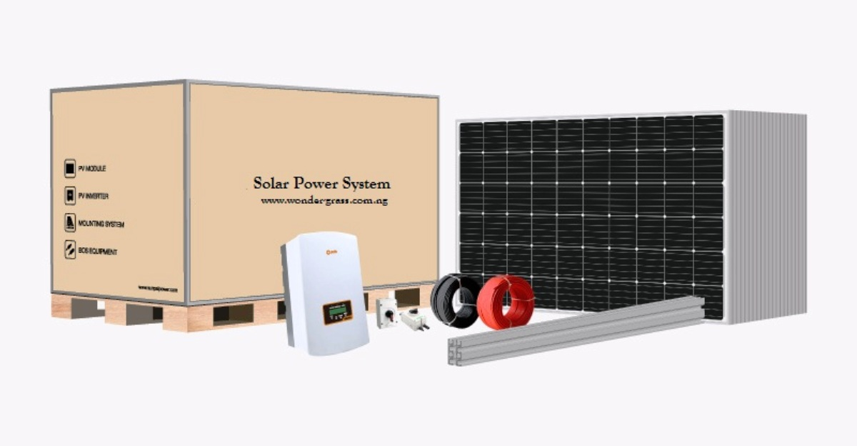 On Grid/Grid Tie 50kWatt Solar System  yields more than 260kWh Energy per Day