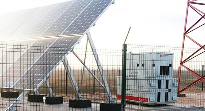Mast Off Grid Solar System 19.2kWattp Solar, 10kVa Inverter and 115.2kWh backup