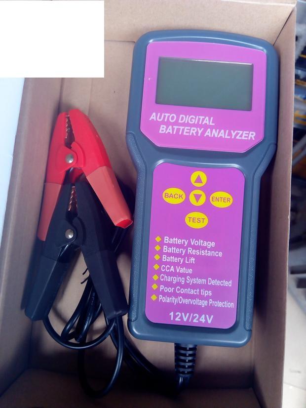 Auto Digital Battery Analyzer