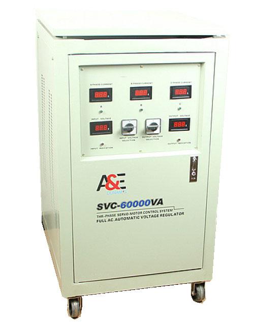 A&E 60kVa Three Phase Servo Stabilizer